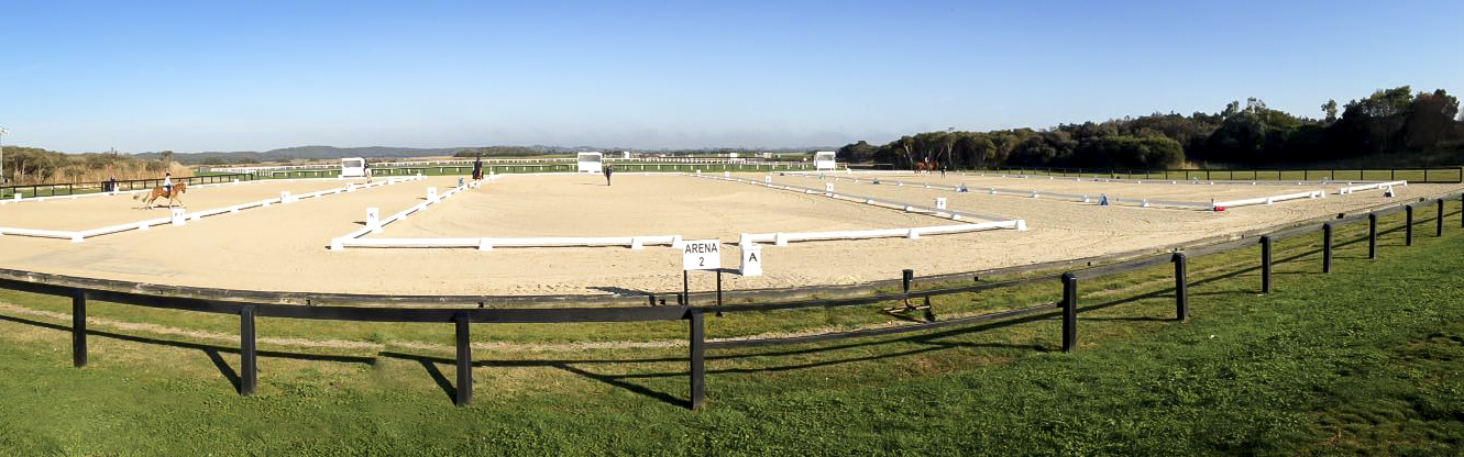 outdoor dressage arenas